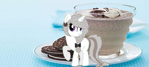Cookies and Cream Unicorn Commission by MadWhovianWithABox