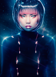 Cyber Anime (Tutorial) by AbbeyMarie