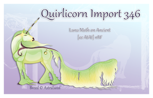 Custom Quirlicorn Import 346 by Astralseed
