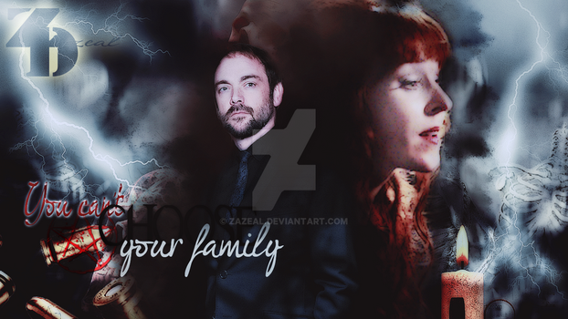 You cant choose your Family Crowley / Rowena by zazeal