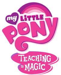 My Little Pony Teaching is Magic logo by OverlordK