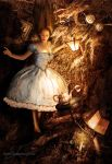 Alice's fall by MadameThenadier