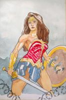 Wonder Woman by M-Katar