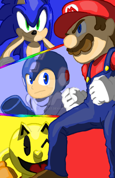 Super Smash bros 4 (with video link) by BluEast