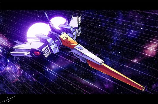 Galvatron SPACE JET by dcjosh
