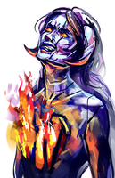 fire within by Katish-chan