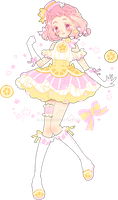cotona's pink lemonade refreshing coord by Hacuubii