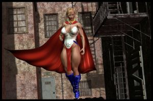 DC NOW ISSUE 1: POWER WOMAN by almeidap