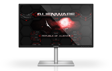 Alienware Wormhole RED Rainmeter Skin by Designfjotten
