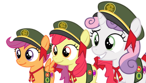 Vector - Filly Scout CMC by SketchMCreations