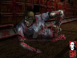 Zombie in Morbus Arcanus by Evilspout