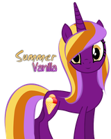 [Free Adoptable] Summer Vanilla (CLOSED) by Harpy-Queen