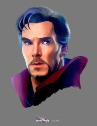 Doctor Strange by ScarlettCindy