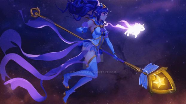 Star Guardian Janna - Animated Wallpaper by CJXander