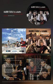 LA BANDA cd cover by RibaDesign
