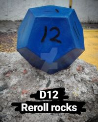 D12 from the Binding of Isaac by Evan-Harrey