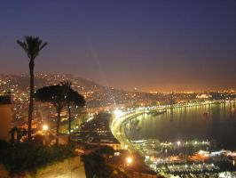 Naples, in the night -again- by metallo