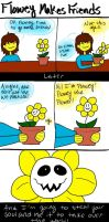 Undertale Comic: Flowey Makes Friends by RenlyWilliam