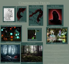 Commission Price List by Shade-of-the-Night
