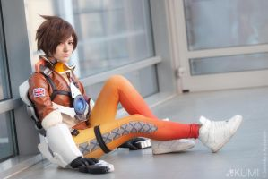 Tracer from Overwatch by KUMIcosplay