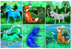 World of Wolves by Eternity9
