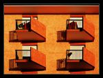 Balcony in color by kgeri