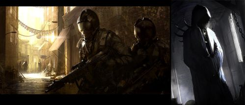 Soldiers and demons by AndreeWallin