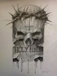 holy bible by AndreySkull