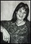 My Bestie - Charcoal Portrait by LorraineKelly