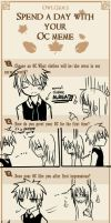 Spend a day with your OC meme by ulan-chan