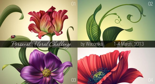 Floral Challenge by Tarelkin