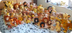All My Lion King Plushes So Far by DrOpDeAdShElLy