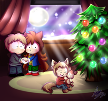 (AT) .:Merry Christmas 2017:. by MimiGuerrero