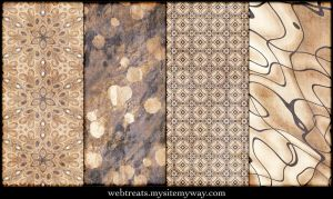 Natural Beige Patterns Part 3 by WebTreatsETC