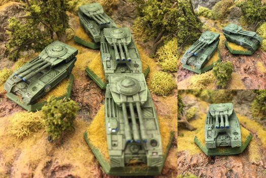 St. Ives Armored Cavalry Schrek PPC Carriers by Viereth
