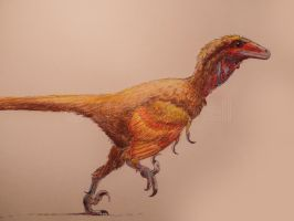 Deinonychus by Lucas-Attwell