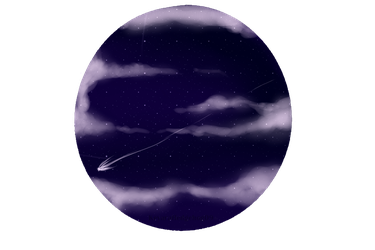 Night sky ball by KeyaraHedgehog09