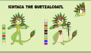 Ichtaca the Quetzalcoatl reference by ChiptheHedgehog
