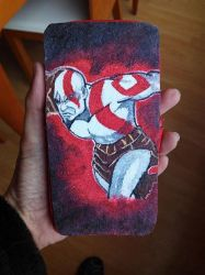 Mobile case Kratos by anapeig