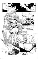 Red Sonja 73 Page 17 by Marcio Abreu by Xanathin