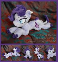 Crystal Clarity Plushie by haselwoelfchen