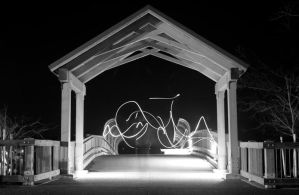 lighted gateway by 1funnyguy