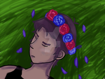 Lance McClain Flower Crown by JeweltheEpic