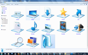 Icons Folder dor Win 7 Preview by Lexenx