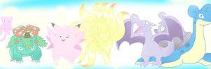 Misselaineous's Dream Team by Eternalskyy