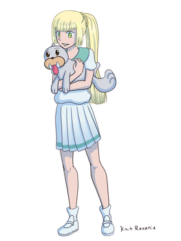 Lillie and Seel by kat-reverie