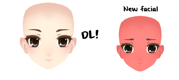 || TDA Cute Face Edit -download- || by ChocolatLoid