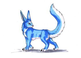 Copic Marker Test - Critter by Jianre-M