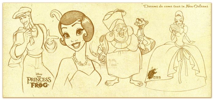 The Princess and the Frog - 11 by davidkawena