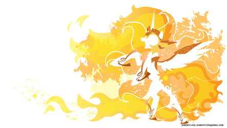 Daybreaker Wallpaper Minimalist by Samoht-Lion